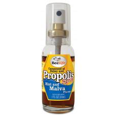 Composto Extrato de Propolis, mel e malva em Spray Beelife 30ml