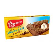 Wafer Sabor Chocolate Sugar Free Bauducco 165g