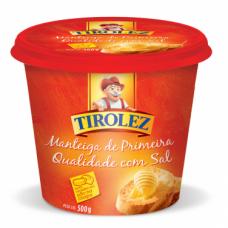Manteiga Com Sal Tirolez 500g