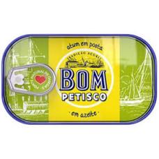 Atum Solido em azeite  Bom Petisco 120g